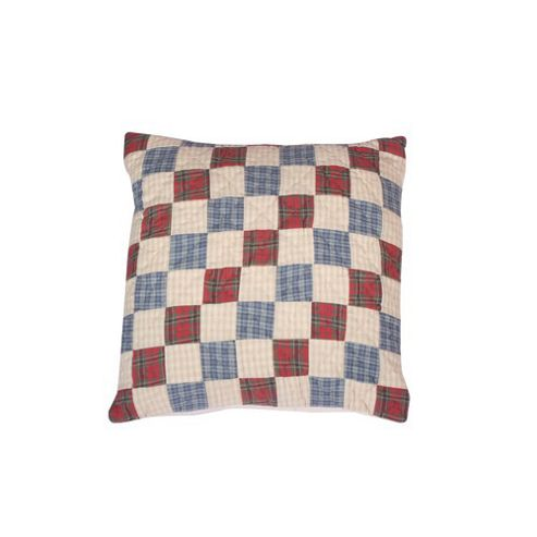 Woven Magic Tartan Scottish Blue Cushion