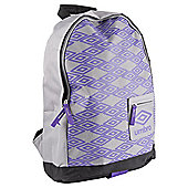 Umbro Titus Black/Grey/Purple  Rucksack