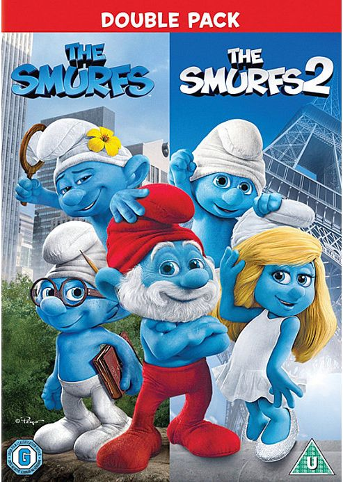 Smurfs 1 & 2 Box Set (Uv) DVD