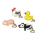 Rac Frm1032 Key Ring Torch Farm Friend