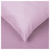Tesco twin pk pillowcase - Violet (mid)