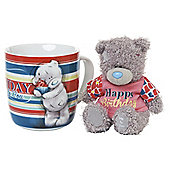 Me to You Mug and Plush Happy Birthday