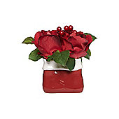 Christmas Rose Arrangement Small