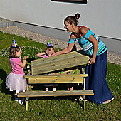 Kids Sandpit Picnic Table. Seats 4-6 Children