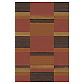 Mastercraft Rugs Mehari Rust Red Brown Rug - 133cm x 195cm