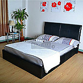 MetalBedsLtd Texas Bed - Black - Double