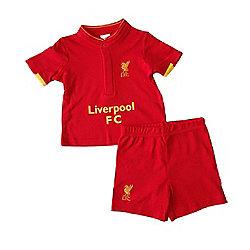 Liverpool Baby Kit T-Shirt & Shorts Set - 2016/17