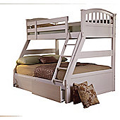 Sweet Dreams Epsom Bunk Bed - White
