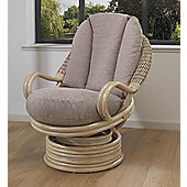 Desser Corsica Natural Swivel Rocker Chair