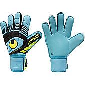 Uhlsport Eliminator Supersoft Junior Goalkeeper Gloves - Blue
