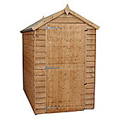 Mercia 6x4 Windowless Overlap Apex Shed