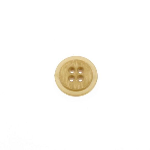 Dill Buttons 20mm Rnd Rebate Tan