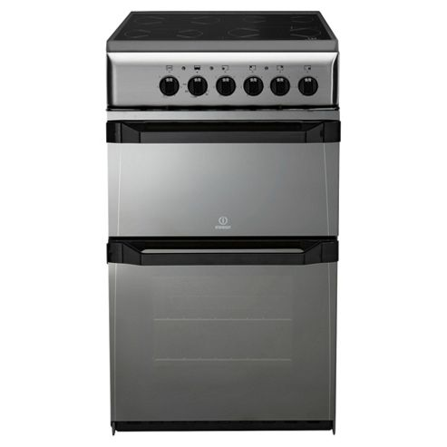 Indesit IT50C(M)S, Moonstone, Electric Cooker,  Single Oven, 50cm