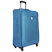 Revelation by Antler Theo 4-Wheel Suitcase, Blue Large