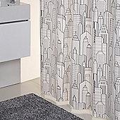 Sorema City Shower Curtain in Multicolour
