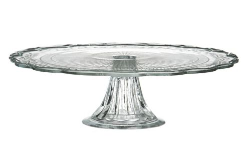Premier Housewares 30 cm Cake Stand in Clear