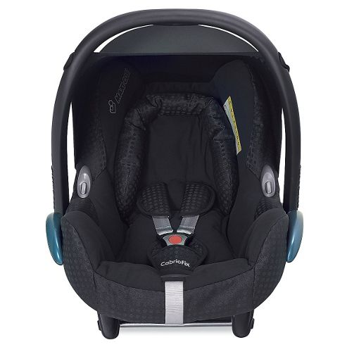 buy maxi cosi cabriofix baby car seat black jacquard colour exclusive to mothercare from our. Black Bedroom Furniture Sets. Home Design Ideas