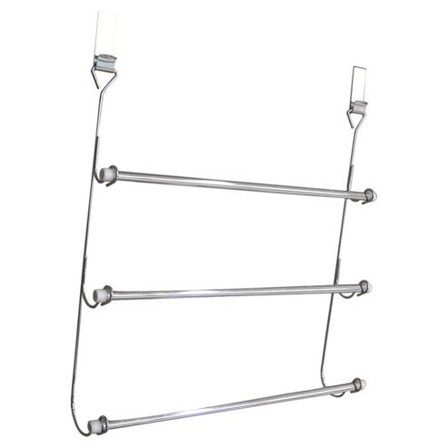 Sabichi 3 Tier Over Door Towel Rail