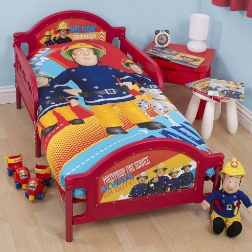 Fireman Sam Toddler/Junior Bed