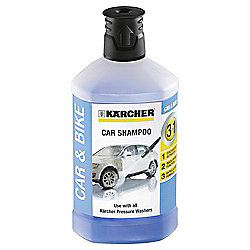 Karcher Car Shampoo 3-in-1 Plug & Clean Detergent, 1L