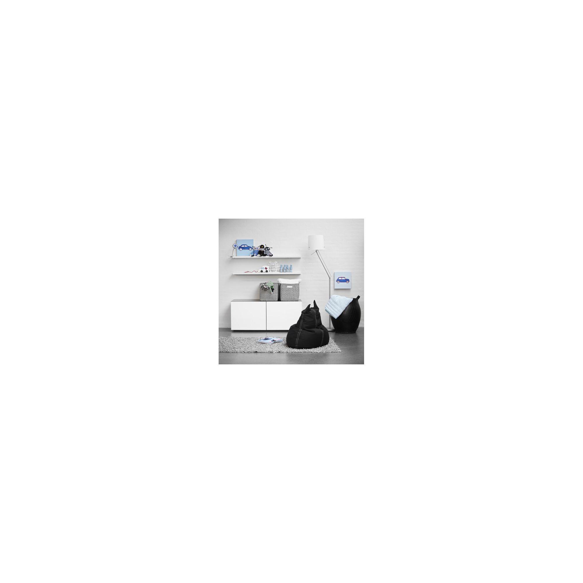 Tvilum Monaco floor standing storage cabinet - Dark Walnut at Tesco Direct
