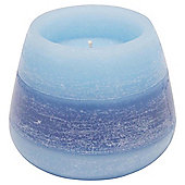Rustic Bowl Candle Navy, Medium