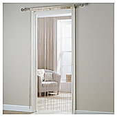 Plain String Curtain W90xL200cm - Cream