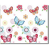 Butterfly Canvas Wall Art, 40 x 50 cm