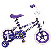 "Terrain  Girls 12"" Bike Purple"