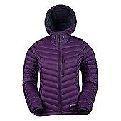 Mountain Warehouse Haraz Womens Hydrophobic Down Jacket - Purple