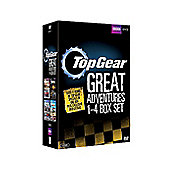 Top Gear the Great Adventures 1-4 Boxset DVD