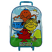 Mr Men Whelled Backpack
