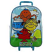 Mr Men Whelled Backpack