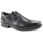 Caravelle Mens Barrister Black Lace up Formal Shoe