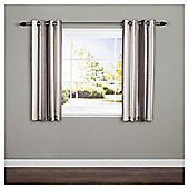"Whitworth Eyelet Curtains W117xL137cm (46x54""), Charcoal"