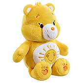 Care Bears Small Bean Bag Soft Toy - Funshine Bear