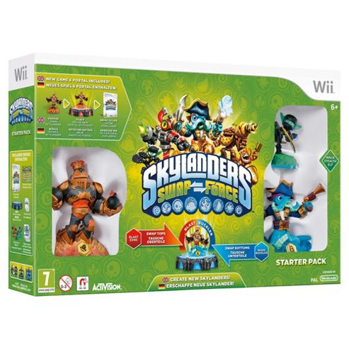Skylanders Swap Force - Starter Pack - Wii