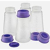 Lansinoh Breast Milk Storage Bottles 4x 150ml