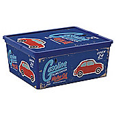 Tesco 18 Litre Filling Station Plastic Storage Box