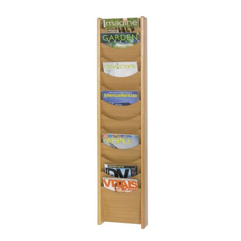 Safco Large Solid Wood Display Pockets