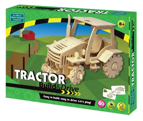 Tractor Build & Drive Remote Controlled