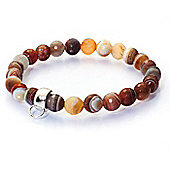 Chrysalis Faceted Botswana Gemstone Bracelet with Charm Loop