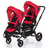 ABC Design Zoom Tandem Pushchair - Cranberry