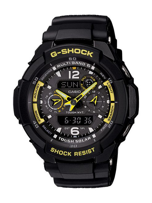 Casio Computer G-Shock Watch With Solar Powered Radio