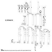 RockShox Compression Damper MoCo DNA SID/Reba RL 2012 Crown Adj w/Knobs (120mm Only)