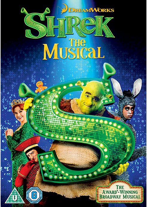 Shrek The Musical - DVD
