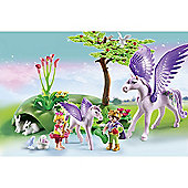 Playmobil - Royal Children with Pegasus and Baby 5478