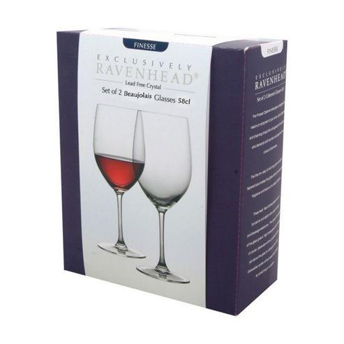 Set of 2 Beaujolais Wine Glasses - 58cl