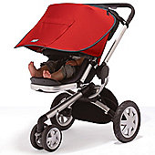 Outlook Solar-Shade Stroller Blind Red Single