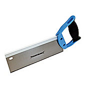 Silverline Hardpoint Tenon Saw 250mm 12tpi